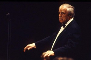 2002年10月21日ロンドン交響楽団を指揮@東京文化会館