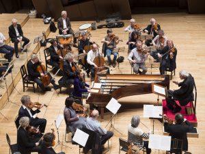ブリュッヘン&18世紀オーケストラとのリハーサル風景 Ⓒ三浦興一