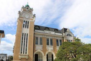 1925年創設の郡山公会堂高校時代によく通った音楽堂。